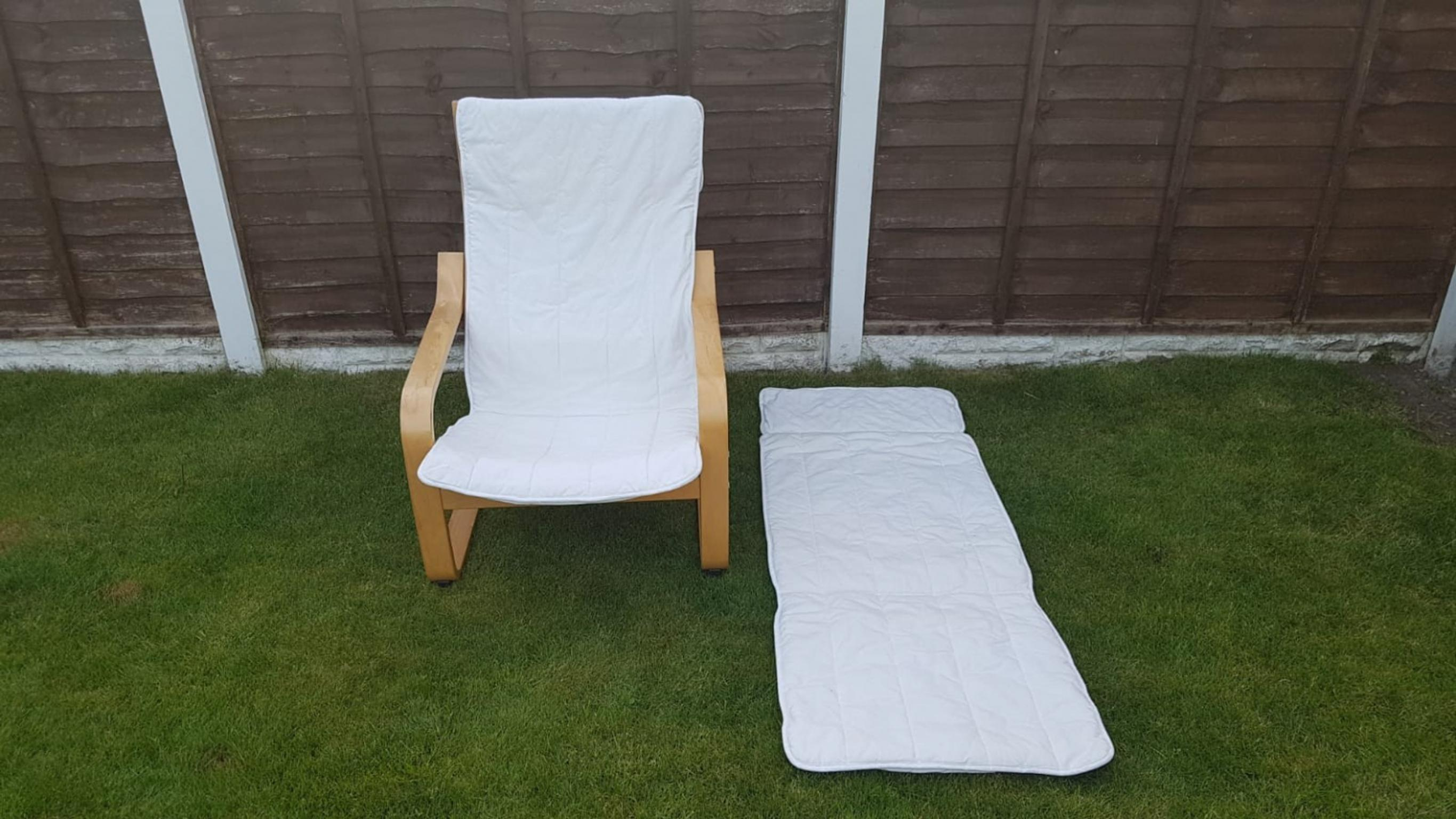 IKEA Poang Armchair with Spare Cover in WN6 Wigan for £15 ...