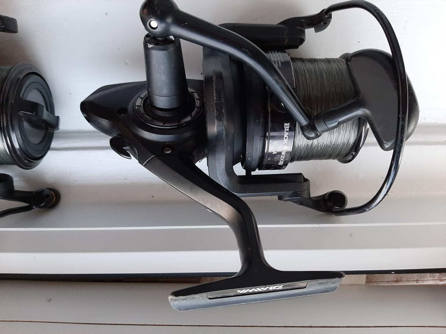 Carp fishing reels in WA2 Blackbrook for £50.00 for sale ...