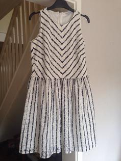 f4210dd8 Blue sparkly striped skater dress Topshop in CT20 Hythe for £8.00 ...