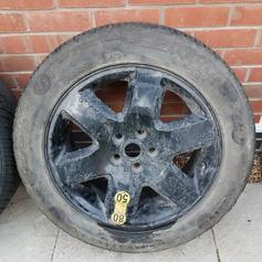 Range Rover Evoque Spacesaver Spare Tyre Kit in ST10