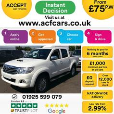 Toyota Hilux 3 0D-4D Invincible Pickup in M2 Manchester for