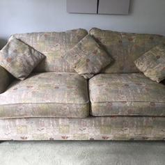 Incredible Sofa Bed 2 Seater Settee Modern Aztec Fabric In Dudley Fur Ibusinesslaw Wood Chair Design Ideas Ibusinesslaworg
