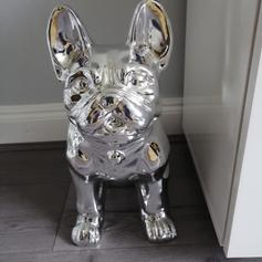French bulldog garden ornaments in Newcastle-under-Lyme for