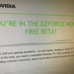 NVIDIA GEFORCE NOW BETA KEY in HA0 London Borough of Brent for