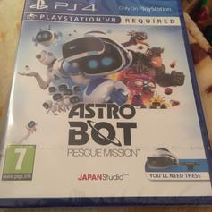 Astro Bot Rescue Mission PSVR Game in RM17 Chadwell St Mary for