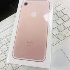 Rose Gold/Gold iPhone 7 128 Brand New, Sealed in EC3M London