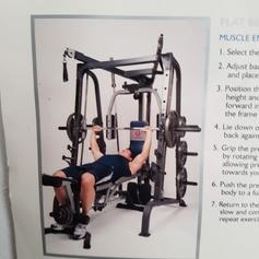 Marcy Pro PM4400 Leverage Home Multi Gym in IG1 London for