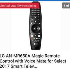 LG AN-MR650 Magic Remote in B9 Birmingham for £30 00 for
