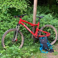 Carrera banshee mtb full sus ,mountain bike in RG25 Overton