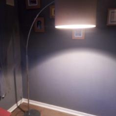 Dwell Giant Curved Floor Light Lamp 80