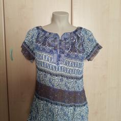Blusa a Manica Lunga con Rouches Donna find