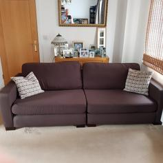 Stunning DFS Stanza sofas 4 and 3 seater. in CF38 Fardre for