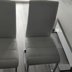 4x Dining Chairs Dining Room Chair White Sale In Nw8 Westminster Fur 68 00 Zum Verkauf Shpock De