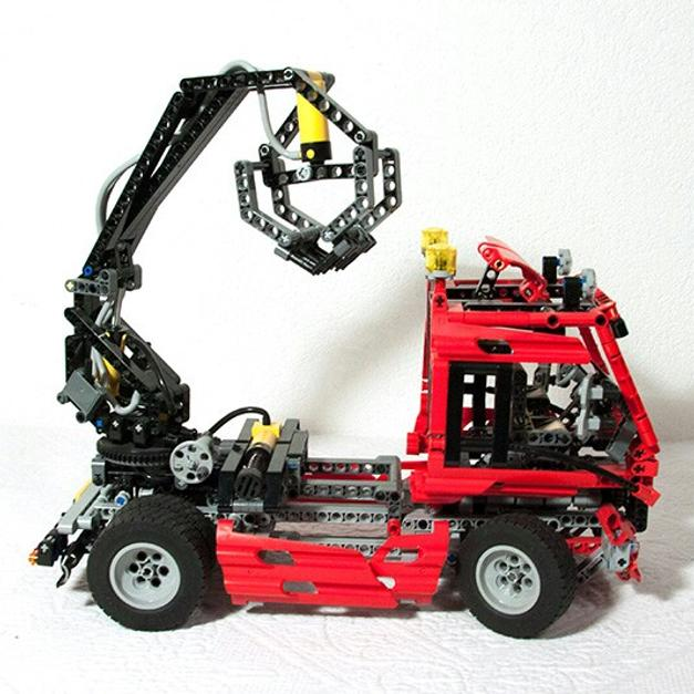 lego technic lkw mit kran in 6020 innsbruck for. Black Bedroom Furniture Sets. Home Design Ideas