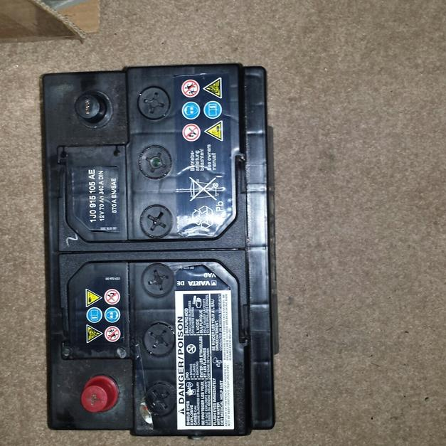 car battery part number 1j0915105ae in cannock chase for £25.00 - shpock