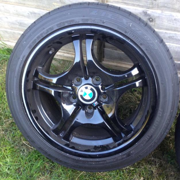 Bmw E46 Style 68 Alloys And Tyres Black In Se4 London Für 17500
