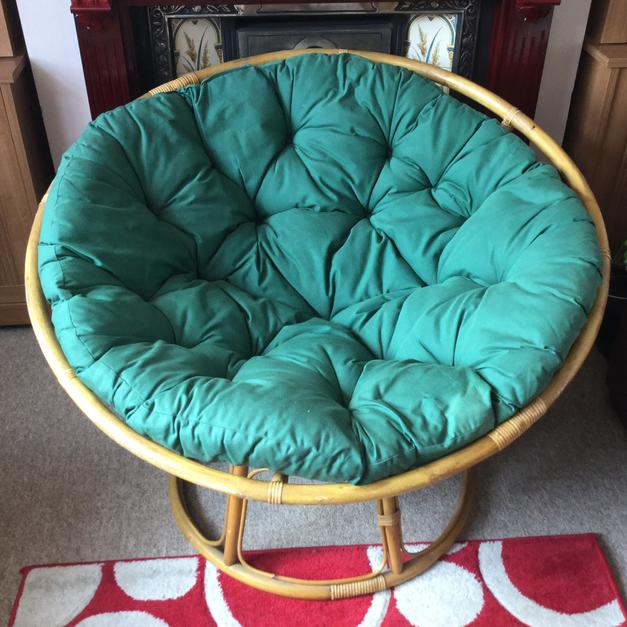 Large Round Bamboo Chair In Tn24 Ashford For 30 00 For Sale Shpock