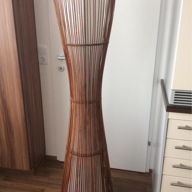 Ikea Stehlampe Holz Bambus Braun In 9400 Reding For Free Shpock