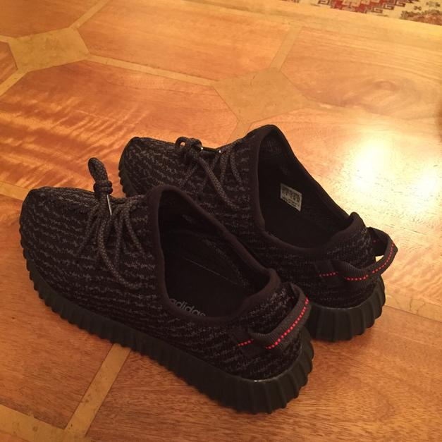 f23b7a95b Adidas Yeezy Boost 350 Pirate Black UK 8 in Brentwood for £70.00 for sale -  Shpock