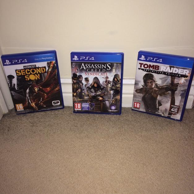 3 AMAZING PS4 GAMES in TF2 Muxton for £30 00 for sale - Shpock