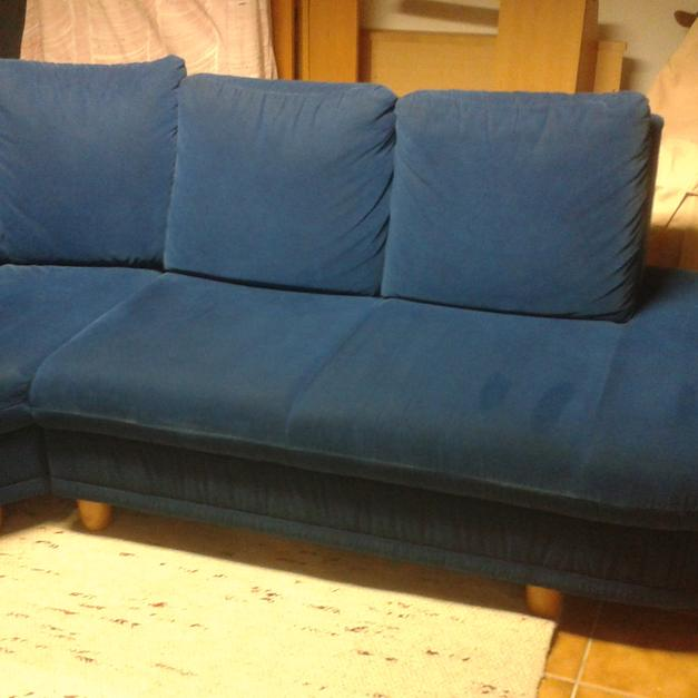 Blaue Couch Incl Hocker In 6067 Absam For 60 Shpock