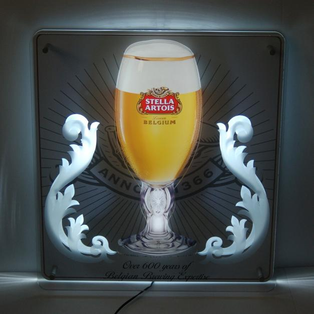 Stella Artois Neon Bar Sign In 21204 Towson For Us 275 00 Shpock