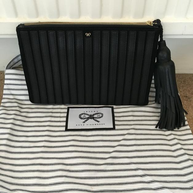 Anya Hindmarch clutch bag in SW6 London for £180.00 for sale - Shpock f5c66fd2ae80