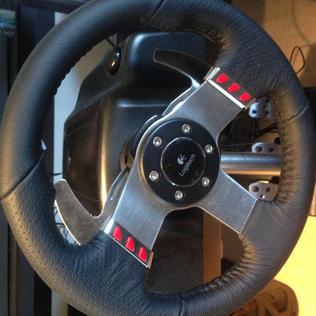 Logitech G27 Racing Wheel, Shifter and Pedals in CF Cardiff