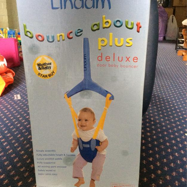 49adf7404 Lindam bounce about plus deluxe baby bouncer in Kirby Muxloe for £10 ...