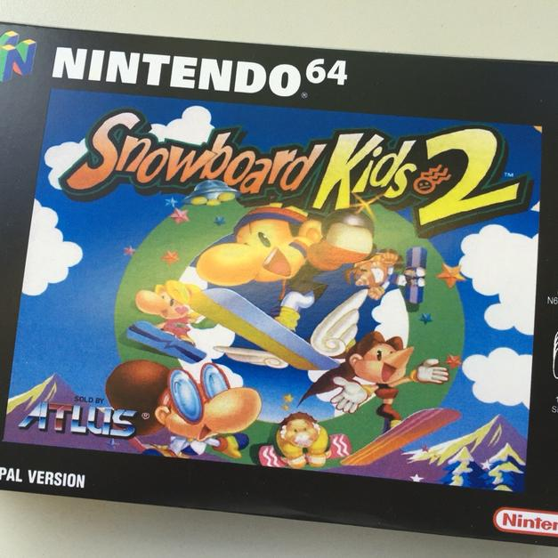 N64 Snowboard Kids 2 Pal Repro Ovp Neu In 6020 Innsbruck For