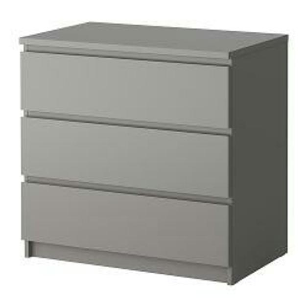 Ikea Malm Grau Mit Glasplatte In 53129 Bonn For 55 Shpock
