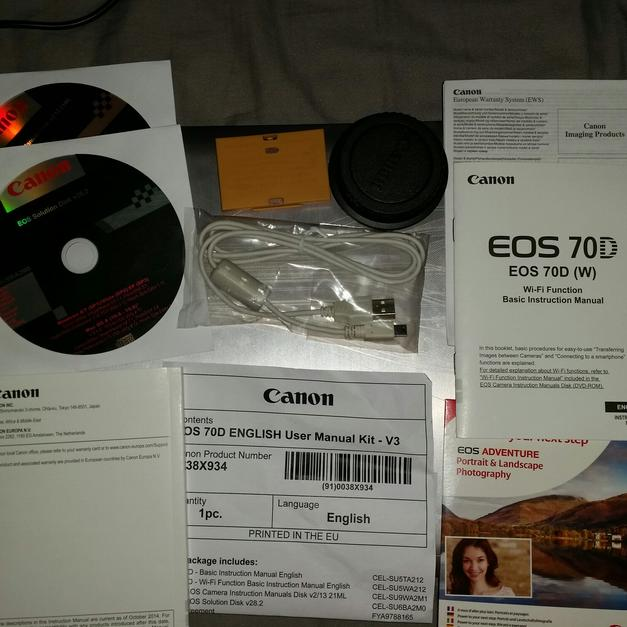 Canon EOS 70D *call -07402840288 for a test* in London for