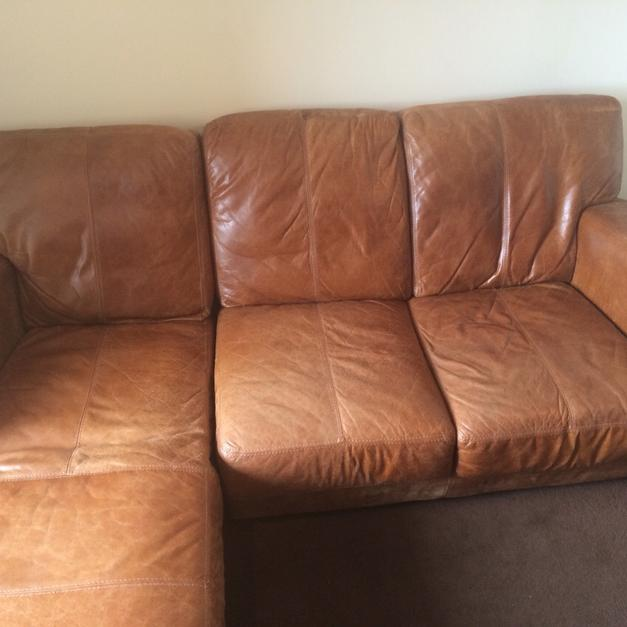 Dfs Leather Sofa L Shaped Brown Leather In W3 London For 500 Shpock