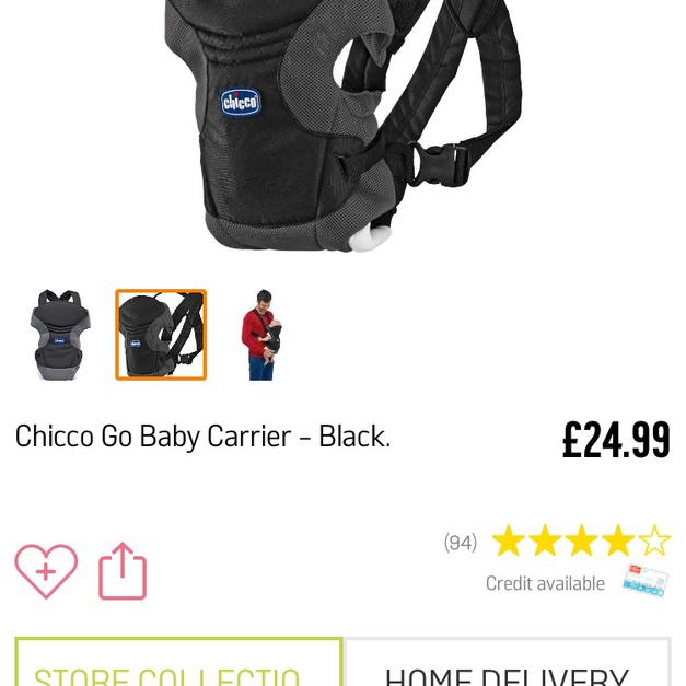5ca74461569 Chicco baby carrier in OX11 Chilton for £5.00 - Shpock