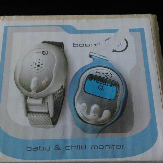 Boardbug baby & child monitor distance alarm