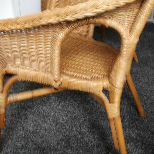 2x Sessel Agen Ikea Rattan Bambus In 21502 Geesthacht For 35 00