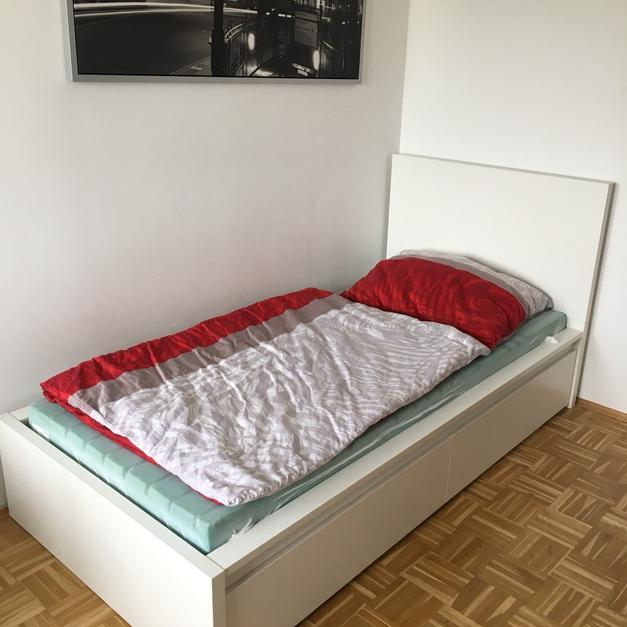 Ikea Malm Bett 90x200 In 4614 Marchtrenk For 125 Shpock