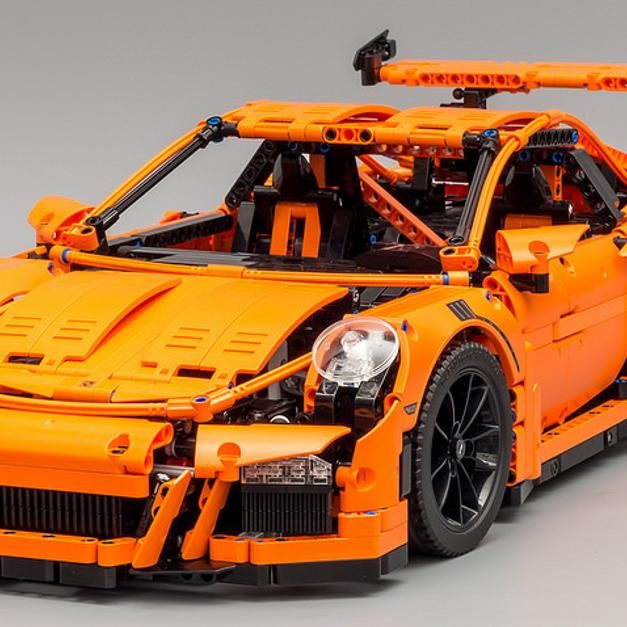 lego technic porsche 911 gt3 rs neu limitiert in 68161. Black Bedroom Furniture Sets. Home Design Ideas