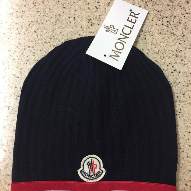 Navy Moncler Winter Hat in M40 Manchester for £20.00 for sale - Shpock ead03b33b2e3