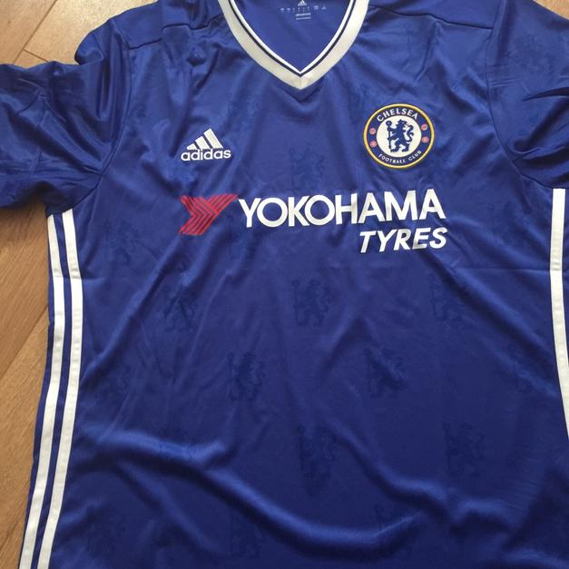 best sneakers 97ede 9deca Chelsea FC football shirt 2017 size large