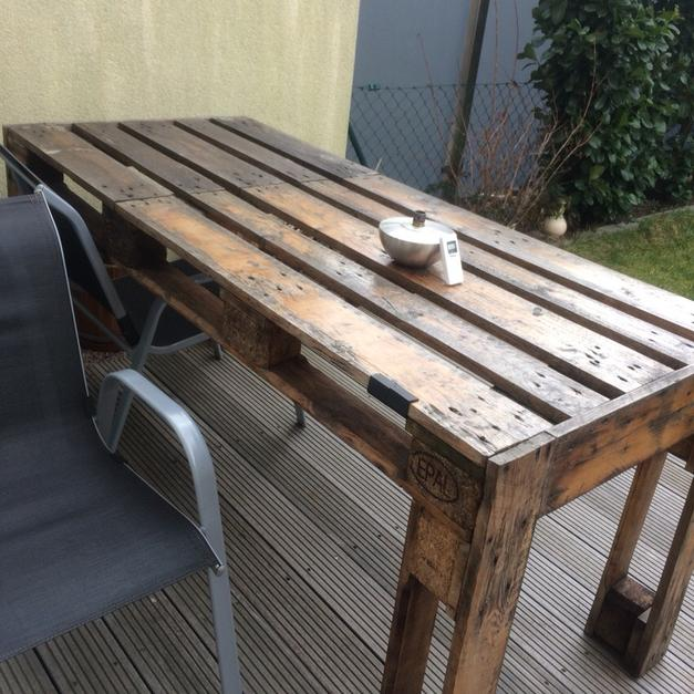 Euro Paletten Garten Tisch In 90765 Furth For 50 00 Shpock