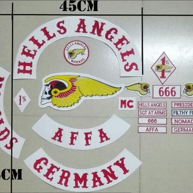 hells angels aufn her patch support 81 in 76437 rastatt. Black Bedroom Furniture Sets. Home Design Ideas