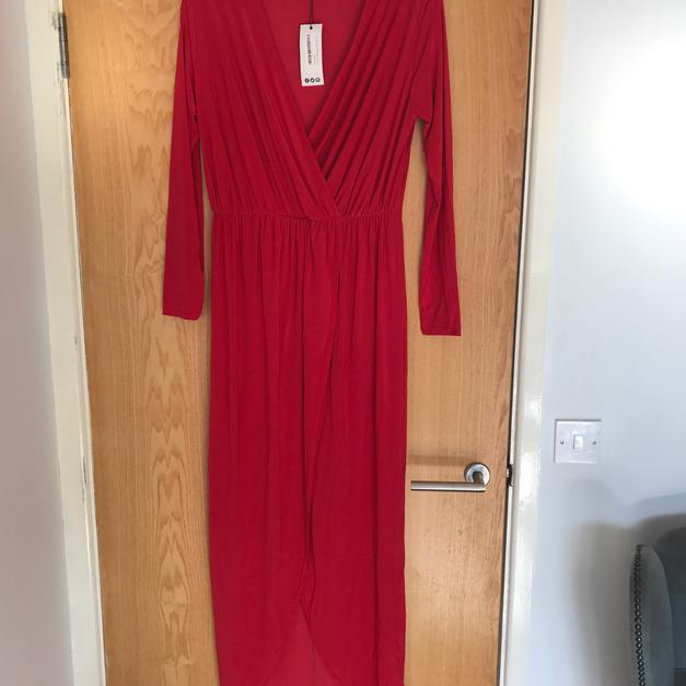 9d4a4574eff Boohoo red dress. Size 18 in CV11 Nuneaton for £10.00 - Shpock