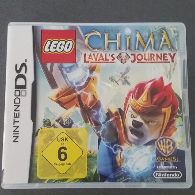 Nintendo Ds Lego Chima Lavals Journey In 66903 Gries For 800 Shpock