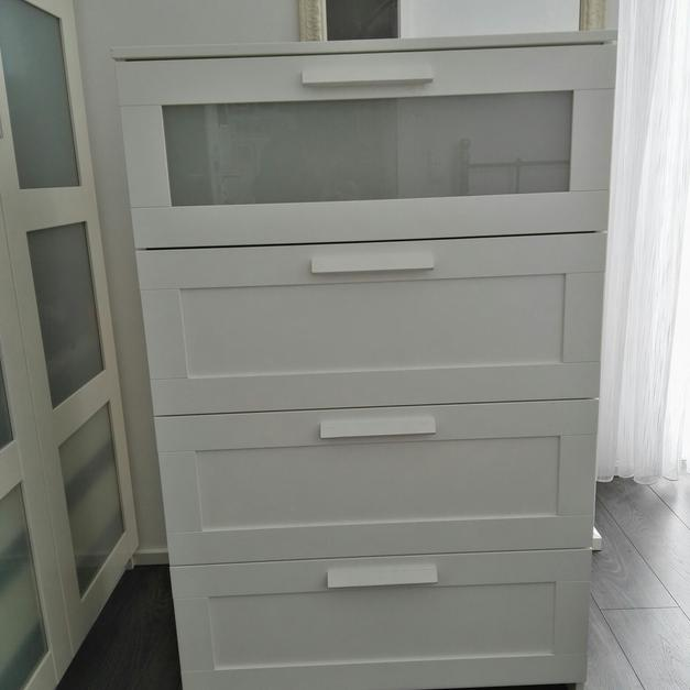 Ikea Brimnes Kommode 4 Schubladen 78x124 In 50859 Koln For 40 00