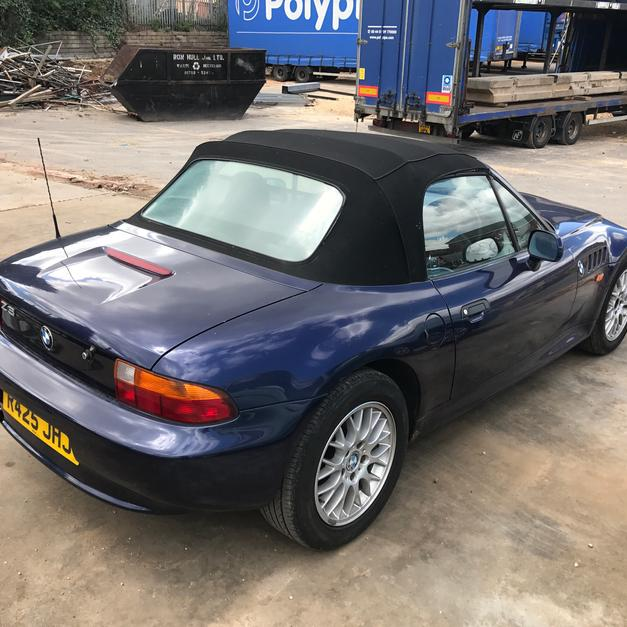 Bmw Z3 Coupe For Sale: Bmw Z3 1.9 In DN12 New Edlington For £800.00 For Sale