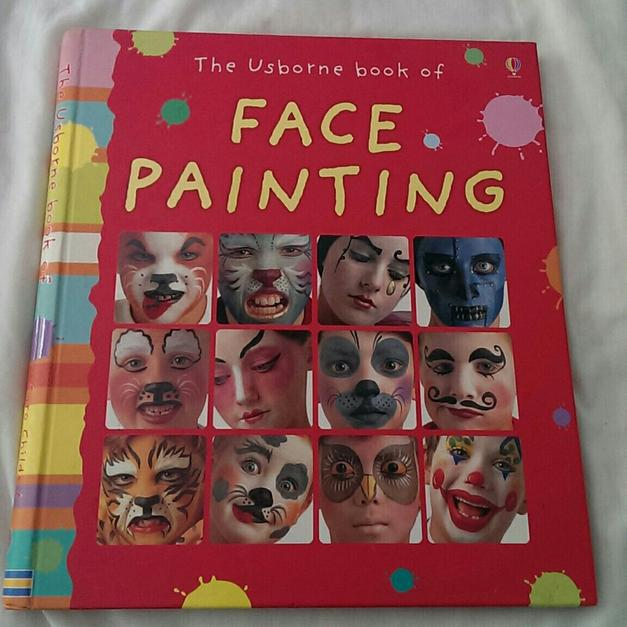 Painting book face