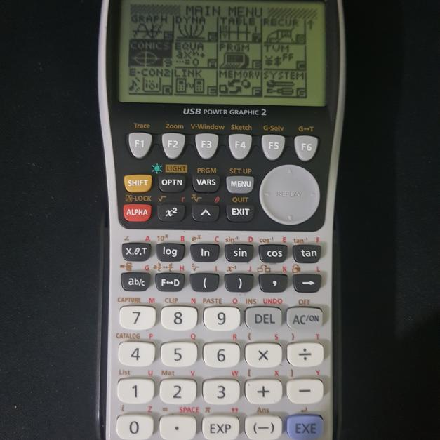 Description Casio Fx 9860gii Graphical Calculator