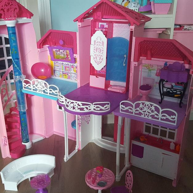 Large Barbie Dolls House In Bb8 Colne For 30 00 Shpock