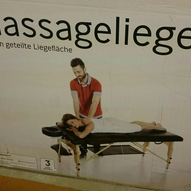 Massageliege Crane Braun Fast Neu Aldi In 53859 Niederkassel For EUR5500 Sale